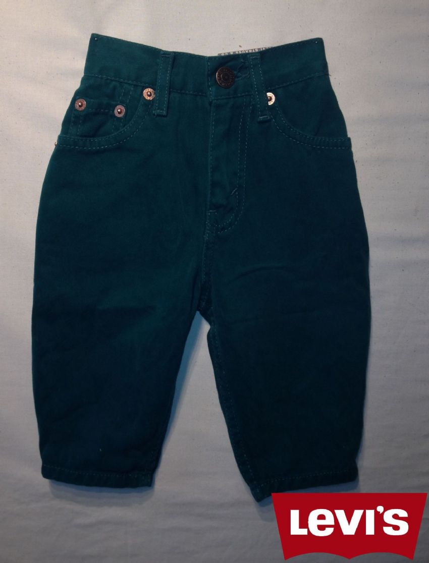 Boys Levis Jeans -Oreg/ Green(Not a Boys Suit Or a Girls Dress)